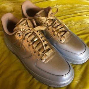 🆕Metallic Airbrush Air Force One Sneakers